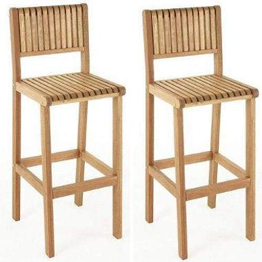 brazil outdoor bar stools - 2 pk. DFMYQJS