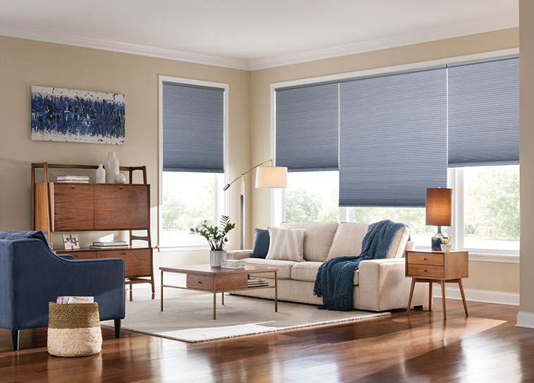 budget blinds blue cellular shades TGIRMJU