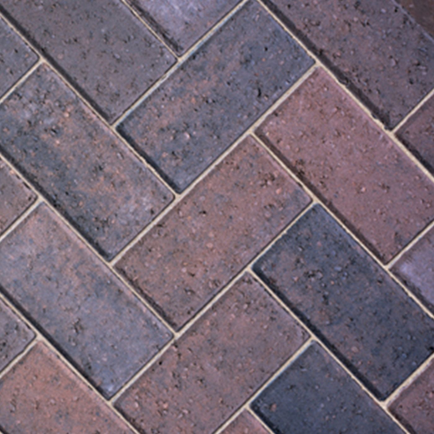 burnt oker europa block paving (l)200mm (w)100mm, pack RVVWCNR