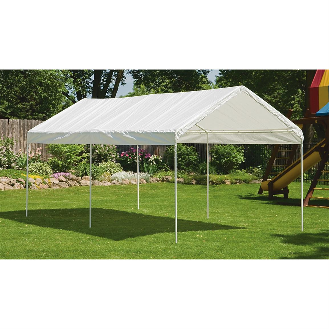 canopy tent shelterlogic 2-in-1 canopy u0026 extended event tent WWXXPKJ