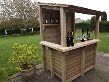 cedar garden bar - hand crafted by tanglewood cedar ( wine bar ) SWHEQQS