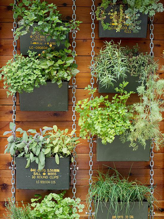 chain-link vertical garden HXQFSTW