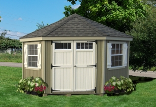 colonial five corner shed DXJWCLT