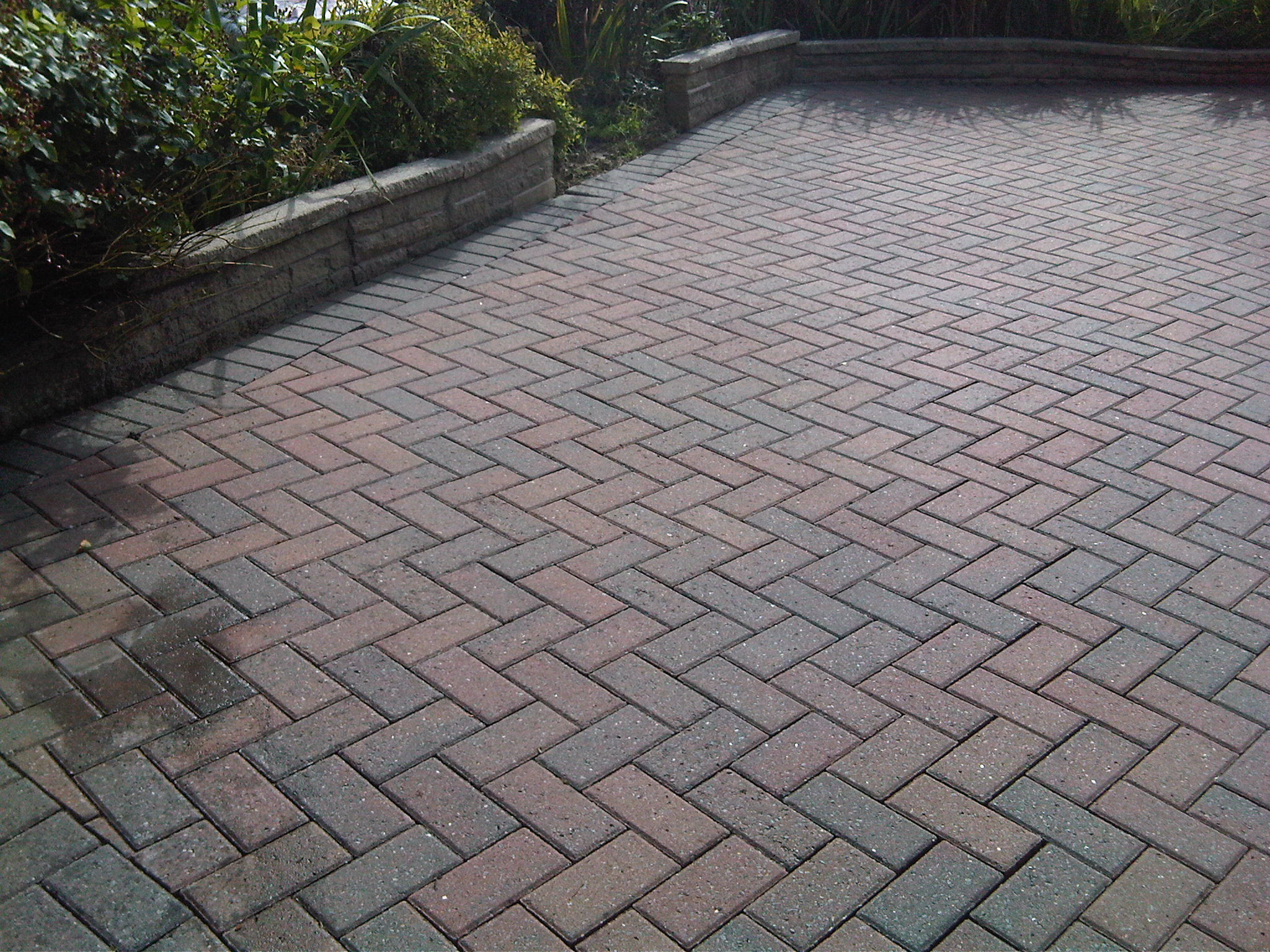concrete block driveway | block paving just cleaned 1024x768 cleaning  driveways and exterior . IECAHHX