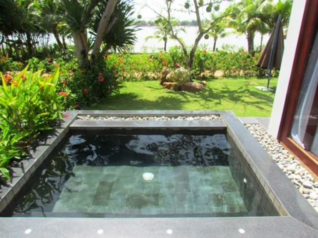 coolest plunge pool ideas for your backyard VVEFQJX