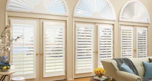 custom blinds newstyle® hybrid shutters with front tilt bar TBIVEPK
