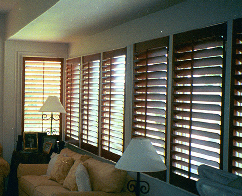 custom blinds stained shutters austin ... DNZCQVQ
