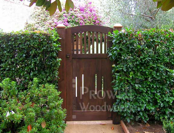 custom wood garden gates #7-12 SPETLAP