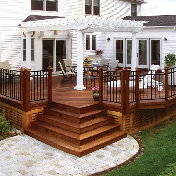 deck designs 20 beautiful wooden deck ideas for your home AZNHAFX