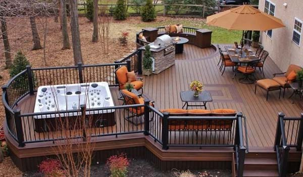 deck ideas 32 wonderful deck designs to make your home extremely awesome RUKMYNK