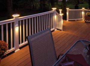 deck lighting i like the post-mounted lights that point down. i donu0027t like · porch  lightinglighting RCMWZSF