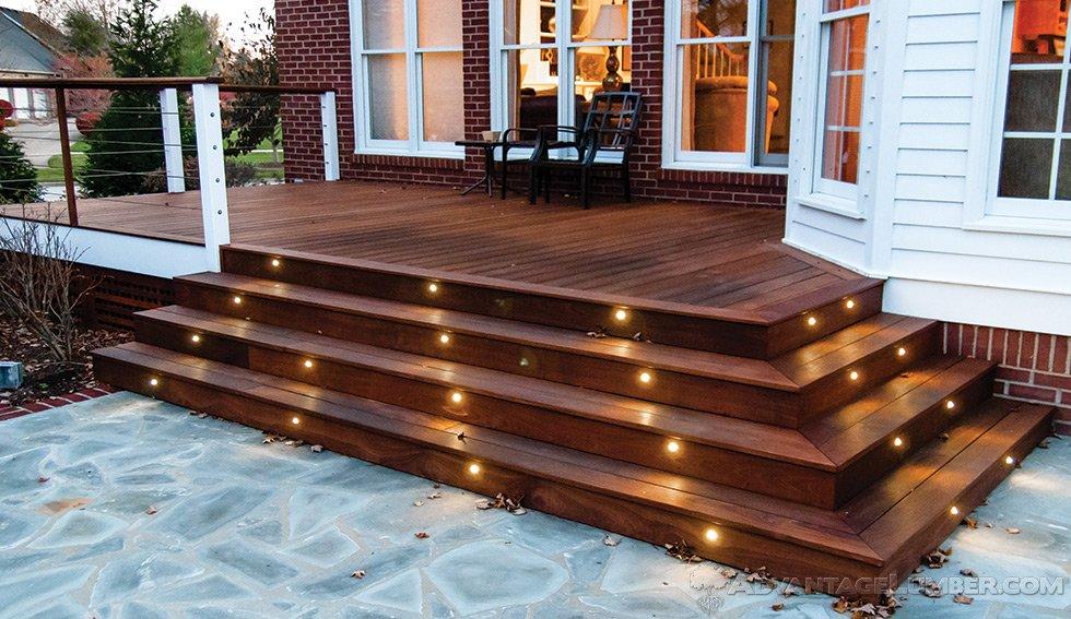 deck lighting JDFTHJH