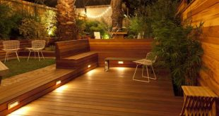 decking lights adding decking to any garden adds a fresh new look helping it to appear TBEYUHW
