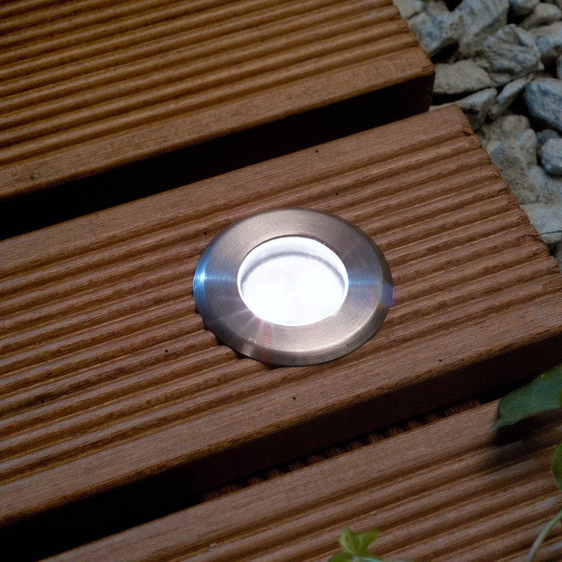decking lights set of 10 led deck lights / decking / plinth / kitchen lighting set - YVHUYAO