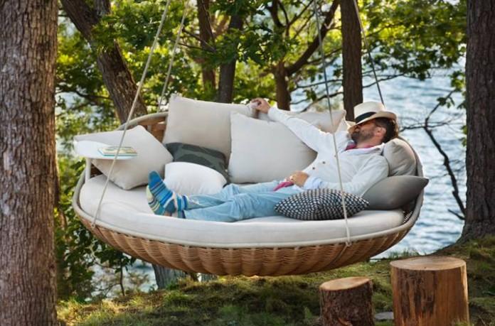 dedon swingrest outdoor daybed YVREAAG
