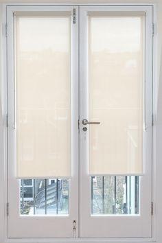door blinds sunscreen roller blinds fitted to french doors. http://www.theblindshop. XTFGTMZ