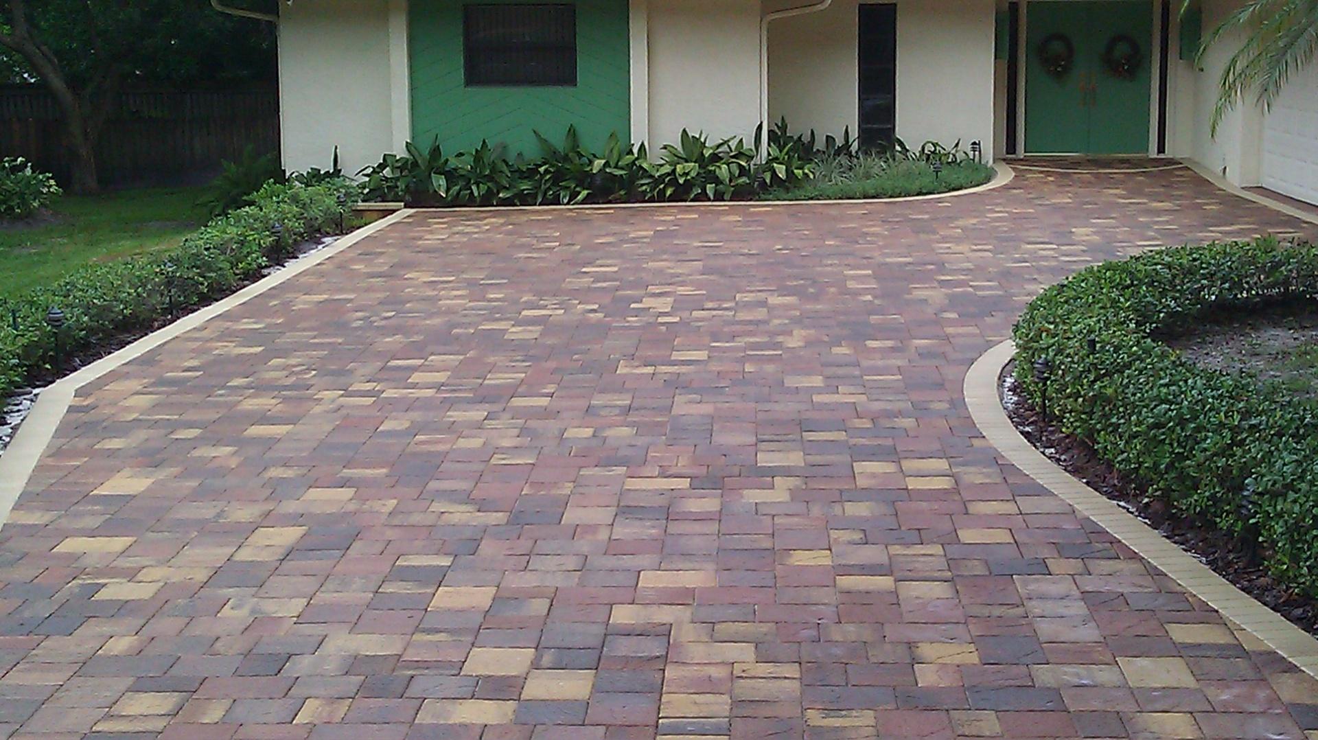driveway pavers we install paver driveway WUBKVBW