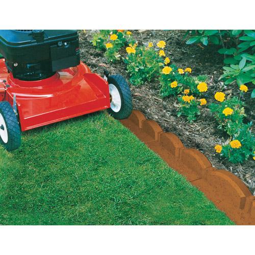 emsco group 2035hd 20u0027 trimfree lawn edging - lawn border edging, 20 pcs  interlocking JILJVDK