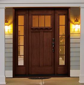 entry doors craftsman collection QLTOBKN