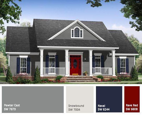 exterior paint colors exterior color scheme RUNVHIL