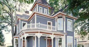 exterior paint colors exterior outdoor spaces paints color. red, white and blue victorian-style  home YPQDEUS