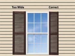 exterior window shutters | shutter height in most cases the height of  decorative shutter | windows SEGRNRX