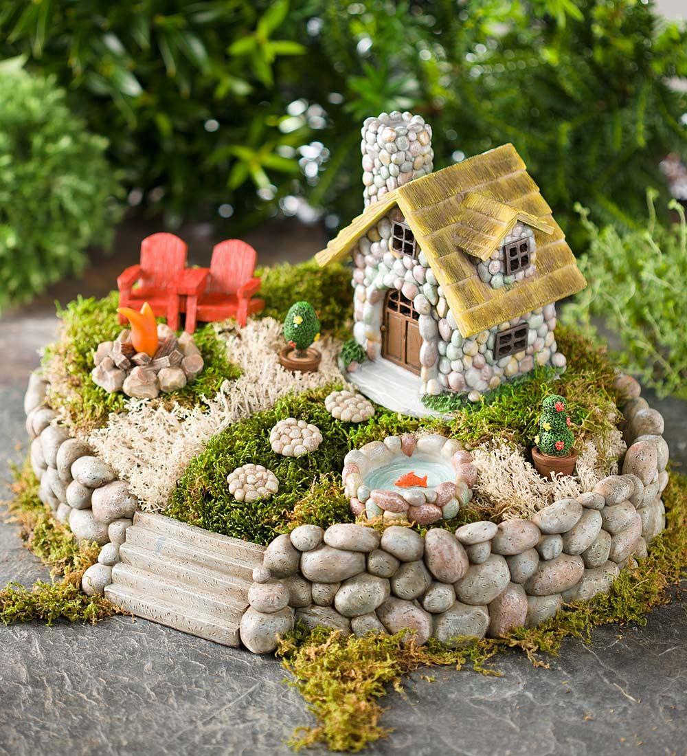 fairy garden 1. summer in the adirondacks AKZJLGI