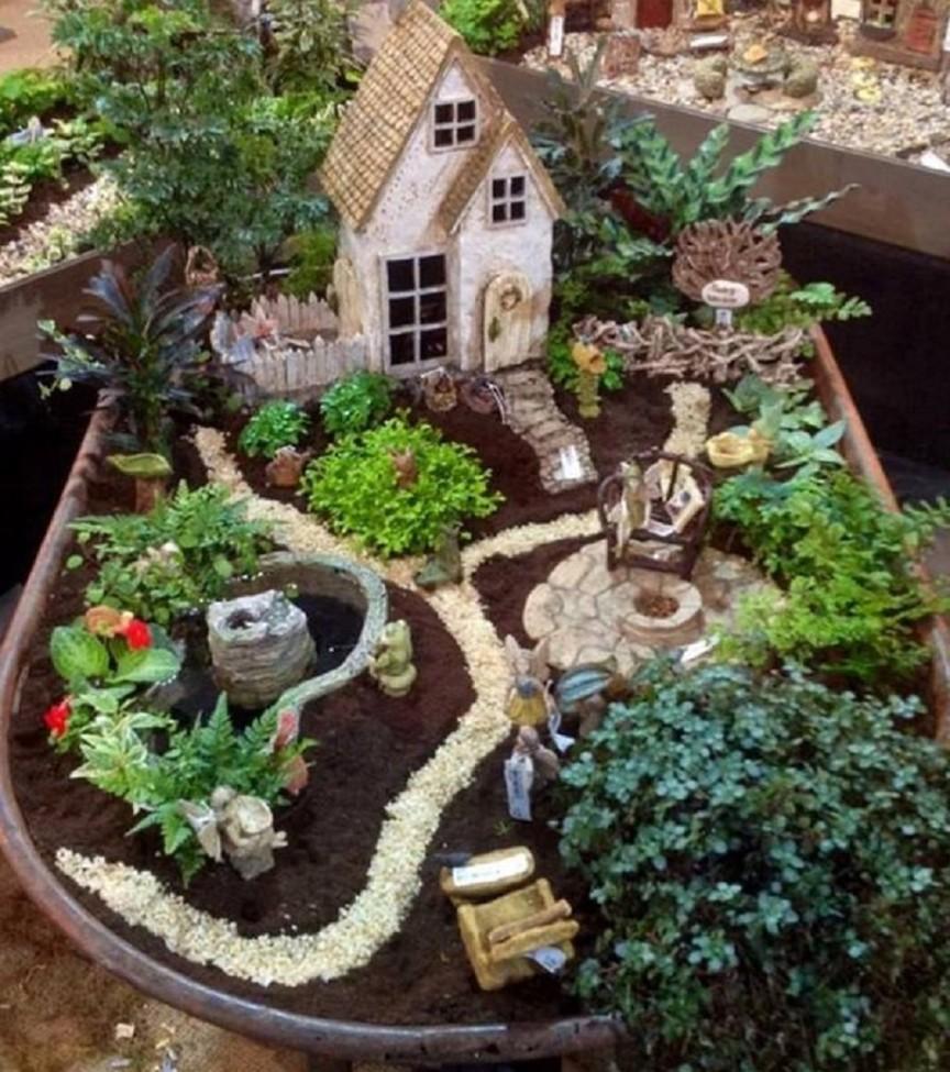 fairy garden ideas fire up the grill, guys! OFTAERA