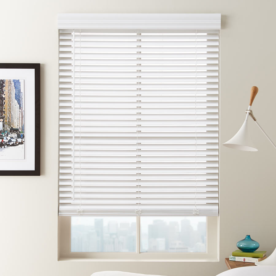 Faux Wood Blinds 1 1/2 OJBYZIW