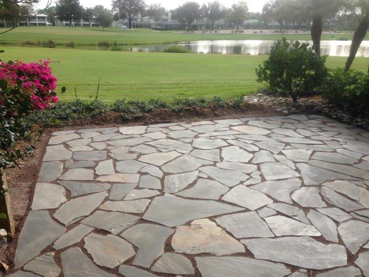 flagstone pavers in and near fort myers florida WVDIYWW