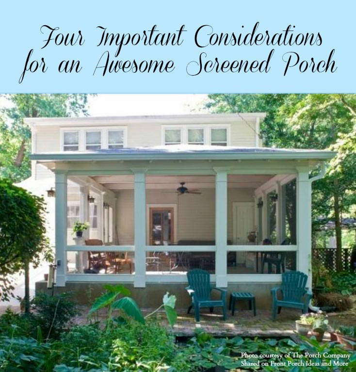 front porch ideas thinking of a screen porch this year? ZNUZLTJ