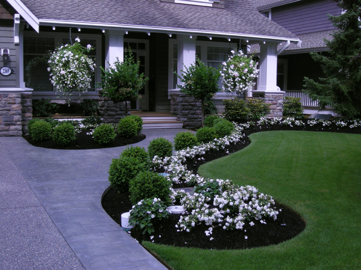 front yard landscaping ideas front yard front yard makeover transformation | south surrey bc OCYPRXK