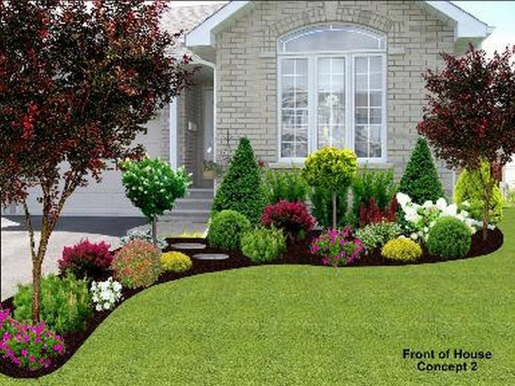 FRONT YARD LANDSCAPING IDEAS TO ACCENTUATE THE BEAUTY OF YOUR HOUSE