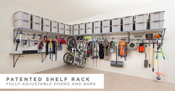 garage storage systems | monkey bar storage TYDYGAV