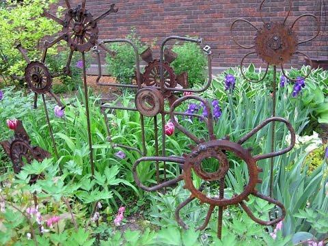 garden art i garden art diy TDELXBN