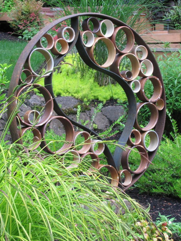 garden art northwest garden tours offer a host of ideas to use in your own yard GVWULHH