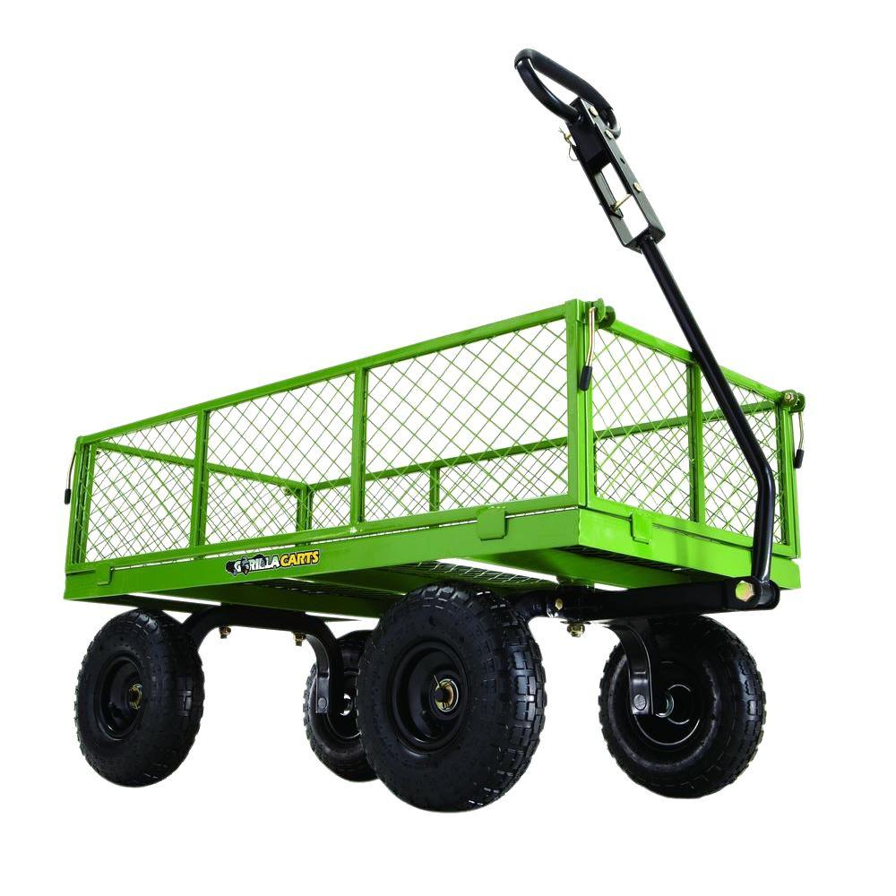 garden cart steel utility cart HLPNDZZ