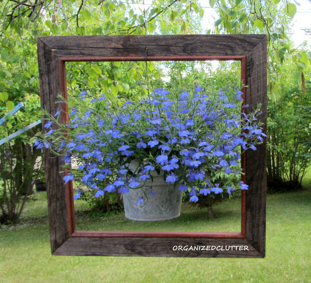 garden decor framed-container PTOAGTW
