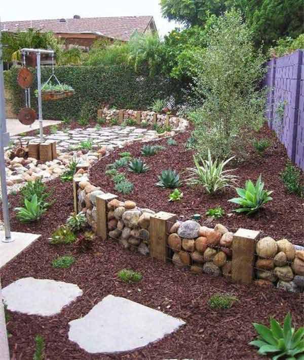 garden edging ideas garden-bed-edging-ideas-woohome-2 YRVMCYU