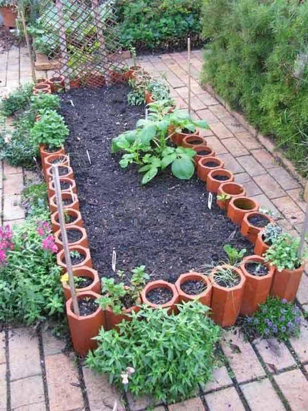 garden edging ideas garden-bed-edging-ideas-woohome-7 KIKKGDM