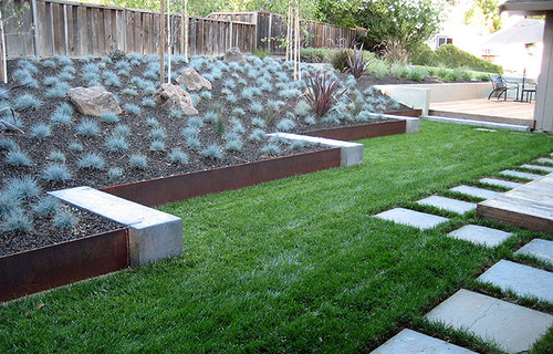 garden edging ideas increase the beauty of your lawn by adding garden edging that works well  with the style OXQWLOT