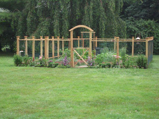 Garden fence choices