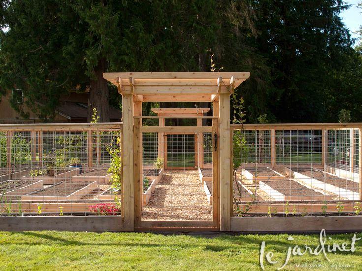 garden fence the perfect garden plan ZYNVNUK