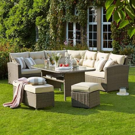 Garden furniture moreton casual dining garden furniture set SHIRFAR