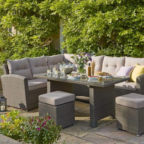 garden furniture sets canterbury casual dining garden furniture set KDXDCWS