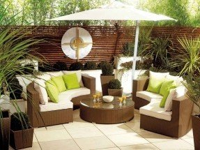 garden furniture sets patio furniture | ... furniture - rattan garden furniture - modern BAEMADC