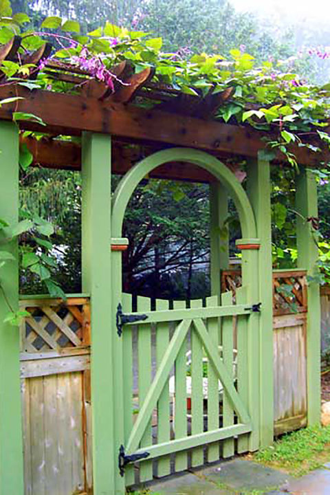 garden gates 3 green hyacinth gate GCBQSXQ