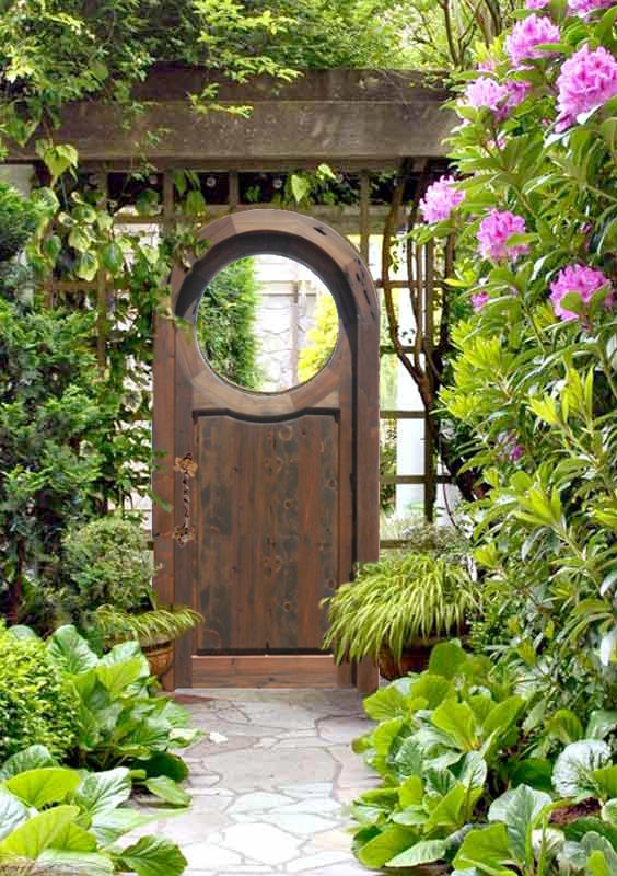 Garden gates ideas