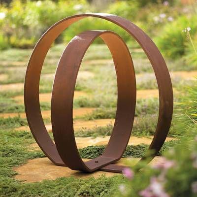 garden sculptures orb garden sculpture FHLPPHC
