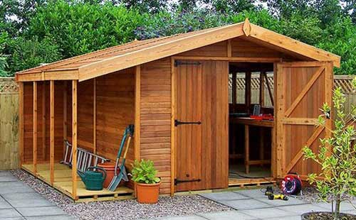 garden sheds can be a great help if placed in the right place and if you CVJNYYK